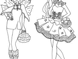 Free Printable Ever After High Coloring Pages