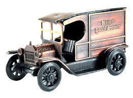100 Ups Truck Toy Old Time UPS Delivery Die Cast Metal Collectible Pencil Sharpener