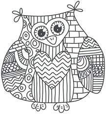 Expert Mandala Coloring Pages Printable Owl Online Free Sheets Pdf