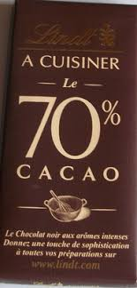 a cuisiner a cuisiner le 70 cacao lindt 200 g