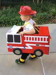 100 Fire Trucks For Toddlers Toddler Preschool Boy Fireman Fire Truck Halloween Costume Cardboard