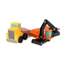 100 Melissa And Doug Trucks MELISSA AND DOUG Wooden Truck Excavator