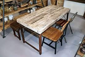 stuff loft vintage esstisch aus altholz gewachst klappbar