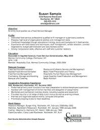Food Manager Resume Samples Of Resumes For Customer Service And Good Administration Catering Sales