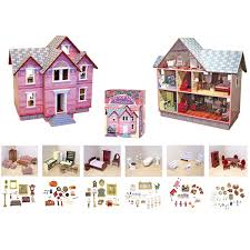 DIY Handmake Hawaii Villa Wooden Miniature Dollhouse Kit Creativing