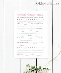 Halloween Mad Libs by Printable Funny Wedding Vows Mad Libs For Bridal Shower U0026