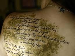 24 Eyecatching Scripture Tattoos For Women