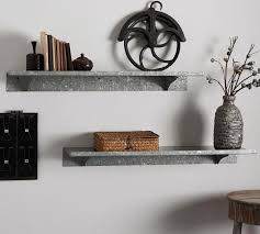 Sheet Metal Shelf | Pottery Barn AU Holman Shelf Pottery Barn Au Who How To Hang A The Classic For Kids Entryway Bench And Storage Family Room Wall Collage Above The Couch Shelves From Freedom 52 Off Armoire With Glamorous Storage Shelf Shelving Units For Narrow Wall Bookshelf Exceptional Mounted Home Design Ladder Decators Services Made Love And Oats Knock Off Wooden Remodelaholic Turn An Ikea Into Ledge