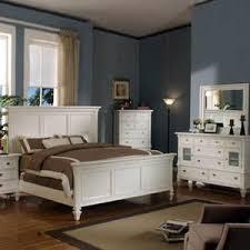 Summer Breeze White 5 Piece King Bedroom Set