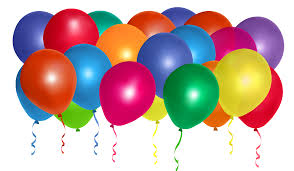 Balloons Bunch PNG Clipart