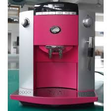 Pink Espresso Cappuccino Latte Fully Automatic Coffee Machine