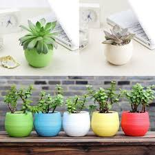 2016 New 1 Pcs Fashion Design 7*6.5CM Round Plastic Plant Flower ... Painted Flower Pots For The Home Pinterest Paint Flowers Beautiful House With Nice Outdoor Decor Of Haing Creative Flower Patio Ideas Tall Planter Pots Diy Pot Arrangement 65 Fascating On Flowers A Contemporary Plant Modern 29 Pretty Front Door That Will Add Personality To Your Garden Design Interior Kitchen And Planters Pictures Decorative Theamphlettscom Brokohan Page Landscape Plans Yard Office Sleek