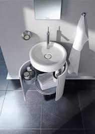 Duravit Sinks And Vanities duravit starck 1 gloss white cloakroom vanity unit bathroom