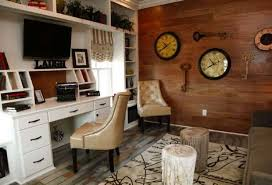 Home OfficeRustic Office With Nice Decor Style Rustic