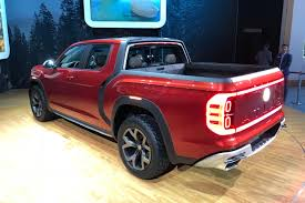 100 Cooley Commercial Trucks VW Explains Why It Brought A Pickup Truck Concept To New York Roadshow