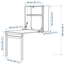 ivar aufbewahrung klapptisch kiefer 80x30 104x155 cm