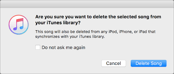 iTunes 12 5 5 Be Careful How You Delete Items from Playlists