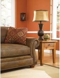 Broyhill Laramie Microfiber Sofa In Distressed Brown by Broyhill Laramie Queen Goodnight Sleeper