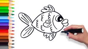 Coloring A Big Green Fish