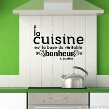 stickers citations cuisine sticker la cuisine est la base du véritable bonheur a escoffier