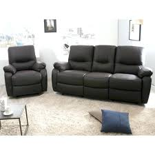 cdiscount canapé cuir fauteuil relax cdiscount canape relax cdiscount canapac 3 places 2