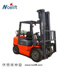 100 Clamp Truck China 3000kg Forklift Gasoline LPG With Cotton Bale