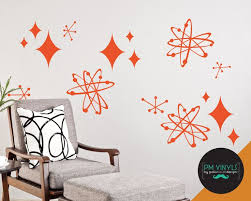 Atomic Starburst Variety Pack Vinyl Wall Decals