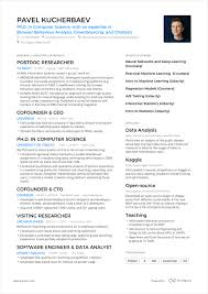 Enhancv A Powerful One Page Resume Example