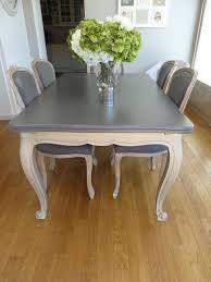 relooker une table de cuisine repeindre une table de cuisine en bois roytk