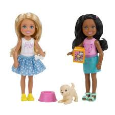Barbie Chelsea Dolls Pet 2 Pack