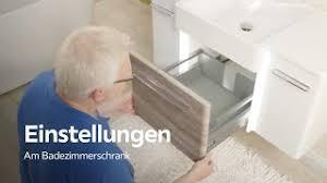 scharniere und schubladen einstellen badezimmer xxxlutz