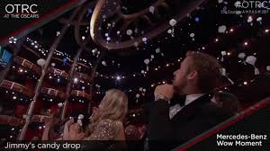 Jimmy Fallon I Ate Your Halloween Candy by Jimmy Kimmel Wows Oscars Audience With Candy Airdrop Abc7ny Com