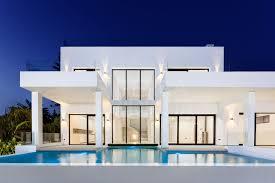 100 Modern Villa Design Stunning New 5 Bedroom Modern Villa For Sale Beachside In Elviria With Glass Panel Private Pool That Illuminates The Basement