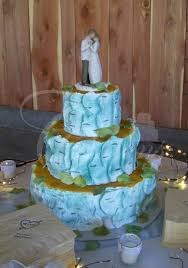 Cakes For Rustic S Lace Blue Teal