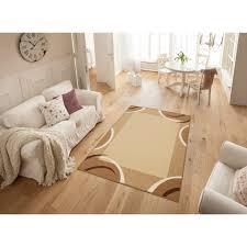 theko teppich loures rechteckig 6 mm höhe kurzflor mit bordüre wohnzimmer kundenliebling mit 4 5 sterne bewertung