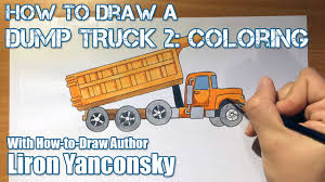 How To Draw A Dump Truck - Part 2: Coloring - YouTube How To Draw Dump Truck Coloring Pages Kids Learn Colors For With To A Art For Hub Trucks Boys Make A Cake Hand Illustration Royalty Free Cliparts Vectors Printable Haulware Operations Drawing Download Clip And Color Page Online