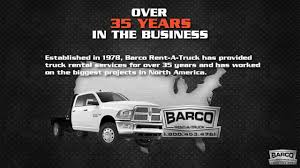 100 Barco Truck Rental 3500 YouTube