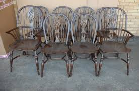 Description You Are Viewing An Absolutely Wonderful English Rustic Barley Twist Table And Windsor Chair Set This Really Is Perfect For That Farmhouse