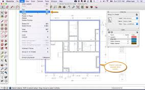 Designing A Floor Plan Colors Sketchup Floor Plan Tutorial Doors And Windows