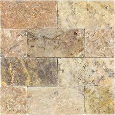 tumbled travertine 3x6 scabos tile stores travertine and glass