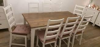 esstischgruppe esstisch stühle landhaus dänisches bettenlager