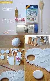 cuire pate a sel et vert diy décoration de noël pate à sel scintillante