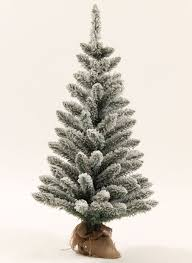 White Flocked Pencil Christmas Tree by Jr Prince Flock Artificial Christmas Tree King Of Christmas