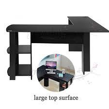 desks l shaped corner desk l shaped desk glass ameriwood home
