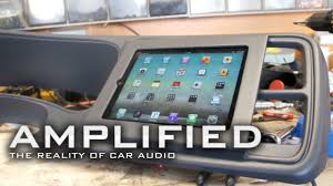 Amplified - IPad Installed Into Dash Chevy Truck, How To Build ... Ipad Iphone Android Mounts From Ipod And Mp3 Car Adapter Kits Accsories Ivapo Headrest Mount Seat Cars Seats Scion Tc Diy Incar Mount Apple Forum My Chevy Tahoe With Its New Ram Gallery Article Ipad Install Into Dash 99 F250 Ford Truck Enthusiasts Forums Ibolt Tabdock Flexpro Heavy Duty Floor For All 7 10 Holder 2 Thesnuggcom Canada Wall Tablet Display Stand Stands Enterprise Series Get Eld The Scenic Route Handy Mini Addons Wwwtrailerlifecom