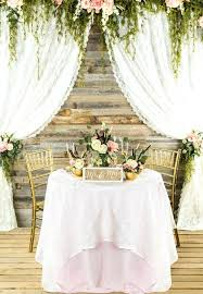 Rustic Table Decorations Decorating Floral Country Wedding Setting