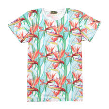 100 Coco Republic Sale Mens Birds Of Paradise Tee In White