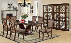 Brilliant Awesome Modern Formal Dining Room Furniture Contemporary Pretty Type Table Arrangement