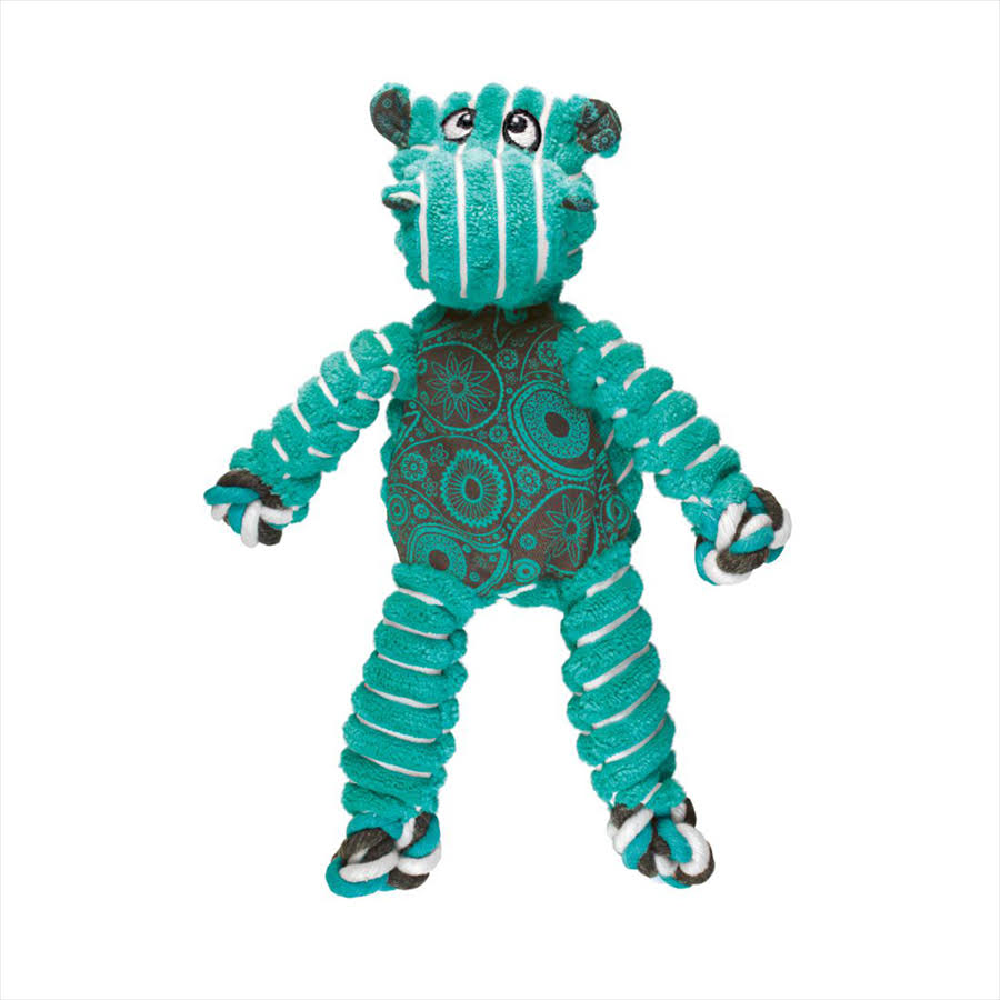 Kong Floppy Knots - Hippo - Small/Medium