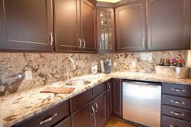 kitchen countertop backsplash ideas for white cabinets granite